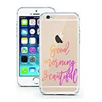 iPhone 5 5S SE Case by licaso for the iPhone 5 5S SE TPU Disney Case Good Morning Beautiful Beauty Clear Protective Cover iphone5 Mobile Phone Sleeve Bumper (iPhone 5 5S SE, Good morning Beautiful)