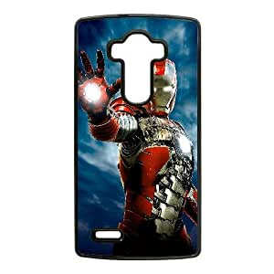 Ironman_001 LG G4 Cell Phone Case Black Protective Cover