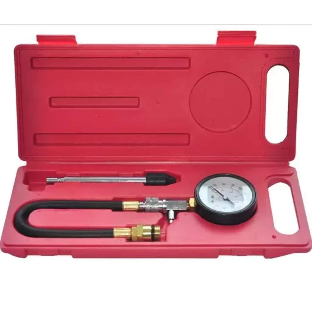 Kompressionspr/üfer Benzindruckpr/üfer Kompressionstester Benzin Motor 0 bis 300psi 2 Anschl/üsse 0,55und 0,7