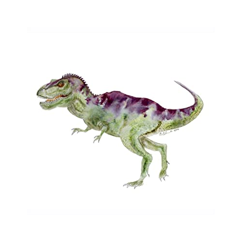 Baby Tyrannosaurus Rex Dinosaur Animal T Nursery Print Gender Neutral