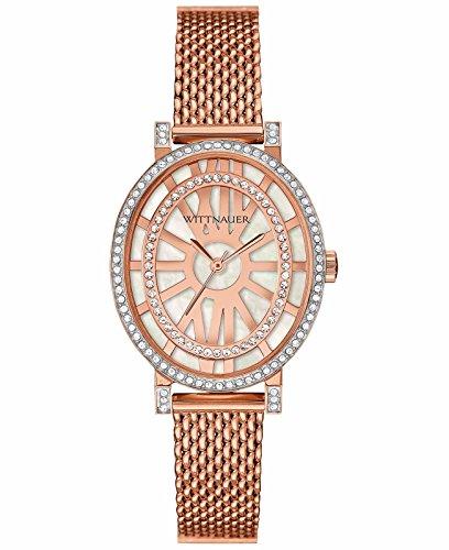 Wittnauer Women's WN4039XG Quartz Rose Gold 28mm Watch (Certified Refurbished)