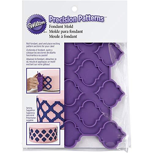 Wilton Precision Pattern Fondant Mold - Trellis, 409-7724