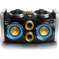Philips FWP3200D Mini Hi-Fi System Mix like a DJ 30-pin dock 100-240V AC, 50/60Hz for iPod, iPhone USB