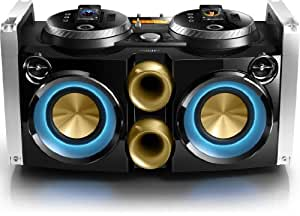Philips FWP3200D Mini Hi-Fi System Mix like a DJ 30-pin dock 100 - 240V AC, 50/60Hz for iPod, iPhone USB