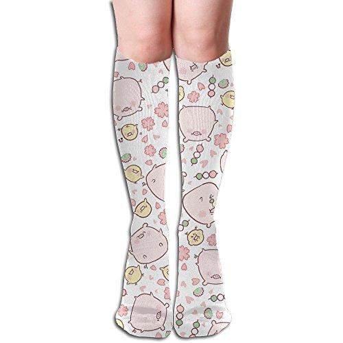Pig Piggy Women's Over Knee Thigh High Stocking Winter Warm Sexy Stocks Knitting Welt