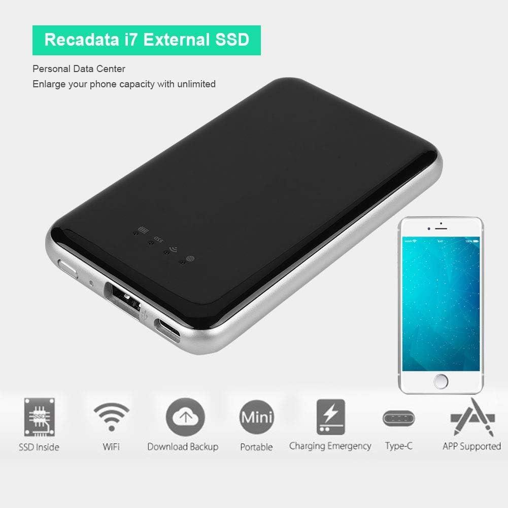 tonysa Disco Duro Externo WiFi Móvil Portátil 256 GB | SSD ...