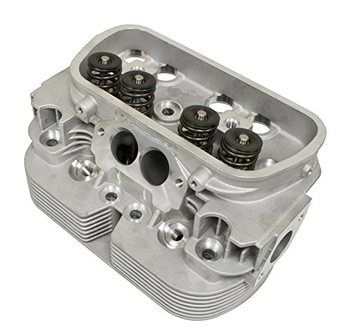 Empi 98-1440-B Racing Cylinder Head Vw Bug 44 X 37.5 SS Valves 90.5/92 Bore (Rev Stainless Steel Valve)