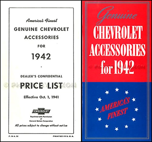 1942-chevrolet-dealership-accessories-brochure-and-price-list-set-chevy