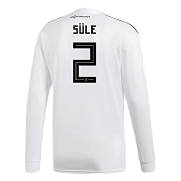c2a48009613 adidas SULE   2 Germany Home Soccer Long Sleeve Stadium Jersey World Cup  Russia 2018 (