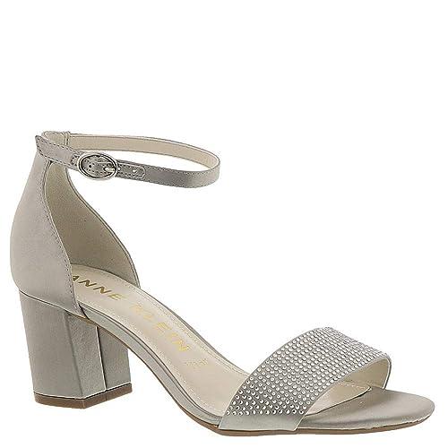 9caed85c38a Anne Klein AK Cordelia Women s Sandal 8 B(M) US Silver