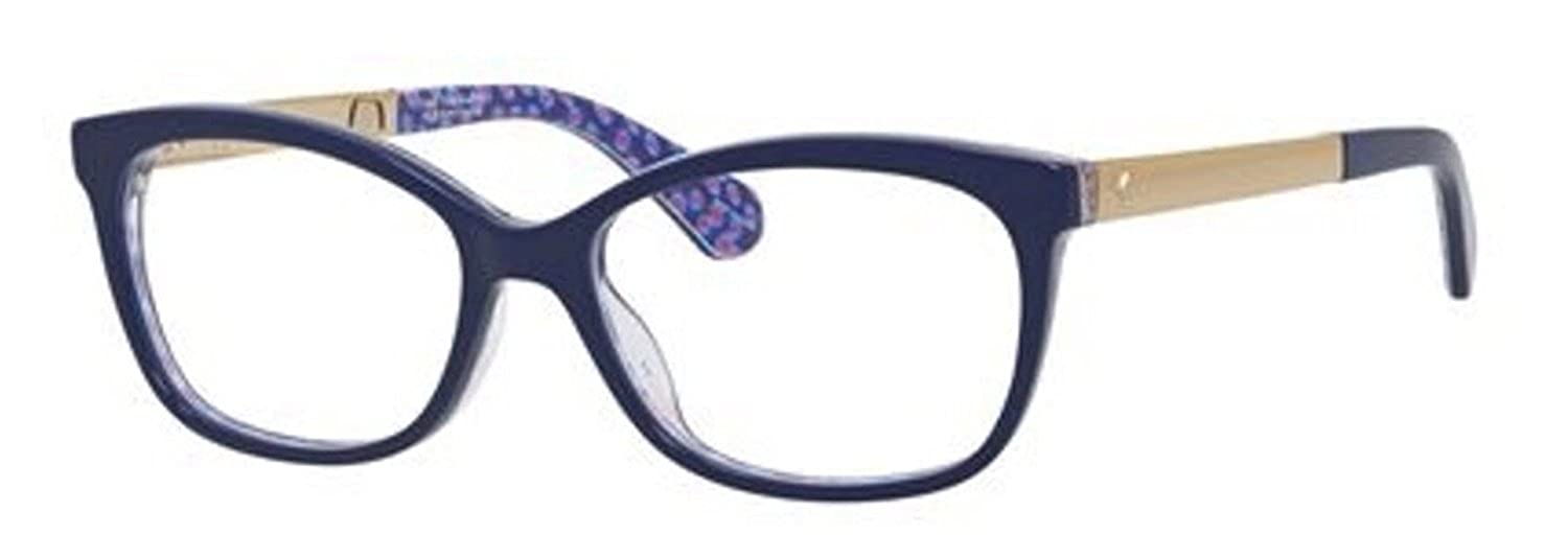 8204be248e Kate Spade JODIANN Eyeglasses 0GF5 Blue Palladium Transparent Blue  50-15-135  Amazon.co.uk  Shoes   Bags