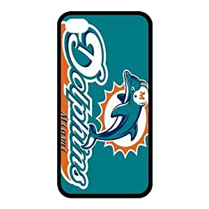 Custom Miami Dolphins Back Cover Case for iphone 4,4S JN4S-1358