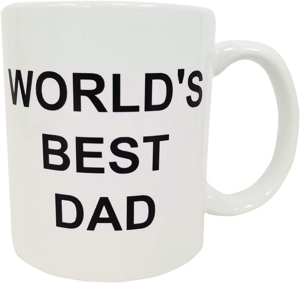 World's Best Dad Coffee Mug Michael Scott The Office TV Cup Father's Day Gift