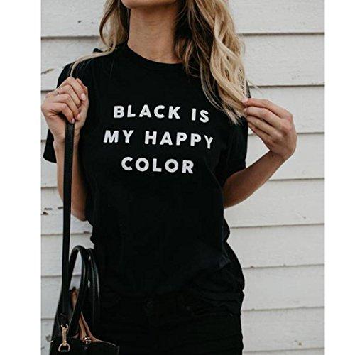 Imprime Ete Angelof Loose T Top Femme Shirt Message C7xf0wx6q
