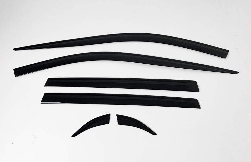 6 pieces Autoclover Wind Deflectors Set for Toyota Rav4 2019+