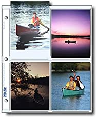 Print File 45-8P Archival Storage for 4x5 Inch Prints Pack of 25