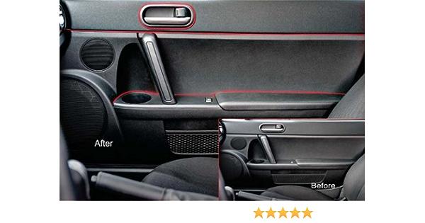 Universal Car Interior Dashboard Doors Gap Trim Durable,Easy Installation Red 5ft