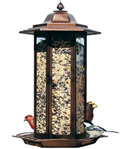Birdscapes 366 Tall Tulip Garden Lantern Bird Feeder Discount