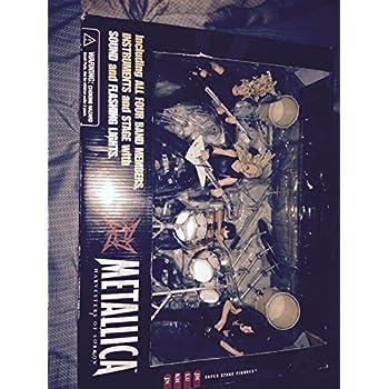 Metallica Harvesters of Sorrow Super Stage Figures ENTIRE BAND - James Hetfield, Kirk Hammett, Jason Newsted, Lars Ulrich