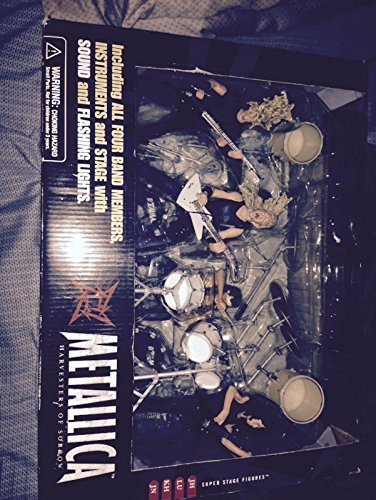 of Sorrow Super Stage Figures ENTIRE BAND - James Hetfield, Kirk Hammett, Jason Newsted, Lars Ulrich ()