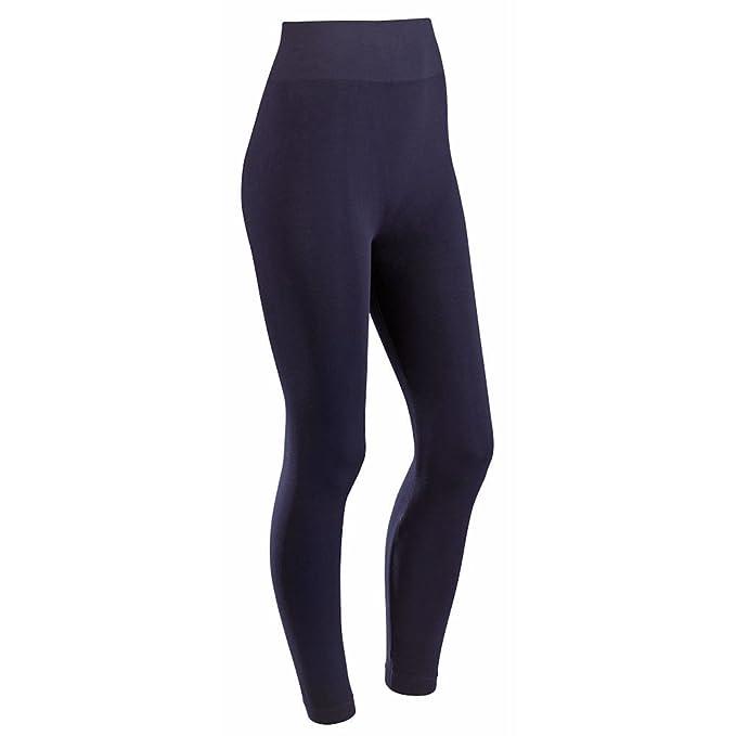 ef61a3dc797 CATALOG CLASSICS Women's Plus Size Bamboo Fiber Moisture Wicking Legging  Pants - Navy at Amazon Women's Clothing store:
