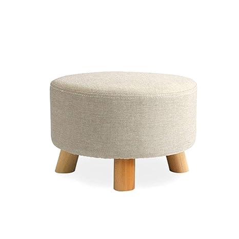 Amazon.com: XBXDZ - Taburete pequeño creativo, de madera ...
