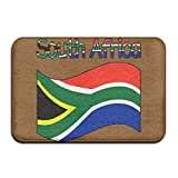 Youbah-01 Indoor/Outdoor Area Rug Floor Mat With South Africa-1 Pattern For Livingroom