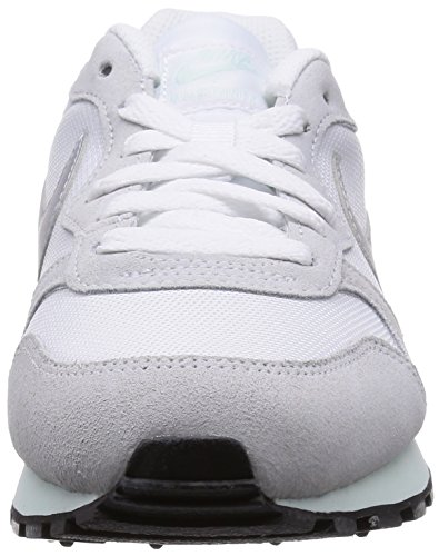 Platinum 103 2 Runner Femme Baskets pure Mode Md Nike white White Blanc fibreglass Silver metallic fqxCw6P
