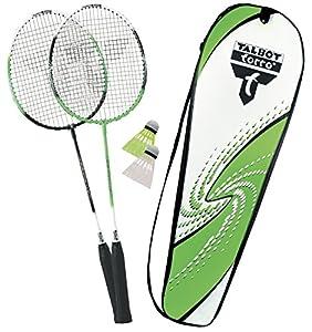 Talbot Torro Set Badminton-Schläger 2-Attacker im Thermobag (2014), Grün...