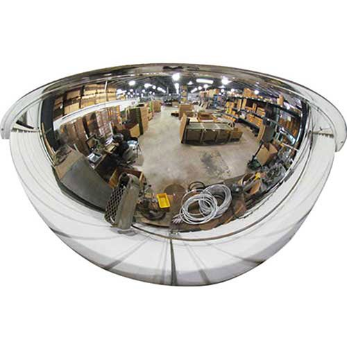 Half Dome Mirror, 26'' Diameter - Lot of 2