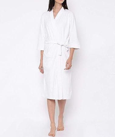 Linenwalas Super Comfort Unisex Bath Gown/Night Gown Pollar Fleece Checks Bath Robe