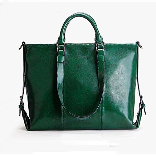 En Femmes Green Sacoche Véritable Main à Sac Fourre Mode Multicolore Lady Cuir à Top Poignée Les Bandoulière Pour tout Sac xwHBtCq