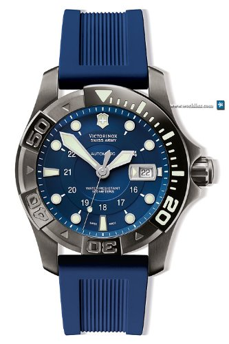 Victorinox Swiss Army Dive-Master 500 Mechanical Blue Dial Men's watch #241425