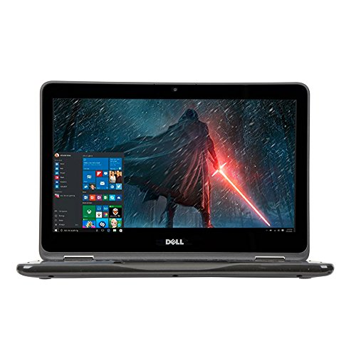 2018 Newest Dell Inspiron Business Flagship 2 in 1 Laptop PC 11.6'' Touchscreen Intel Pentium N3710 Quad-Core Processor 4GB RAM 500GB HDD Wifi HDMI Bluetooth Webcam Windows 10-Gray by Dell (Image #1)