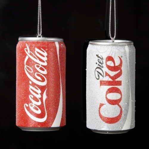 Kurt S. Adler Coke Ornaments 4.5