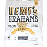 Remys Nut Free All Natural Honey Grahams, 1 Ounce - 192 per case.