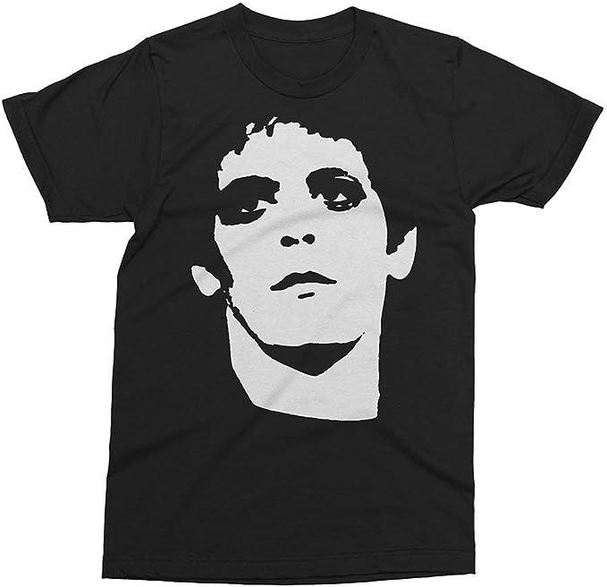 Tops de Women's/Mujer Lou Reed Colour1 Camiseta con póster tee|T-Shirt Manga Corta Short Sleeves Fashion Camiseta de Moda