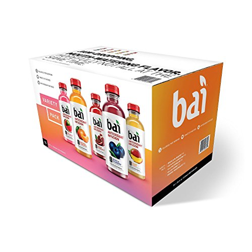 Bai Core Antioxidant Infusion Variety Pack (18 fl. oz. bottles, 15 pk.) (pack of 6) by bai