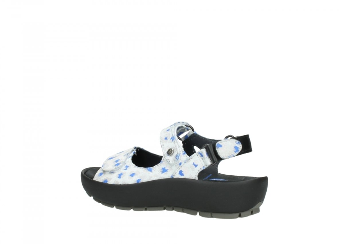 Wolky Comfort Rio B07BNK249D 36 M EU|92128 Offwhite-blue