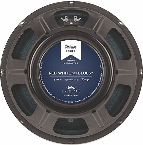 - Eminence Patriot Red White & Blues 12 Inch Guitar Speaker 120 Watts