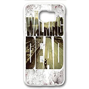 S6 Case,Anti slip properties give more grip for Galaxy S6 back cover,Galaxy S6 fashion PC white cover,the walking dead