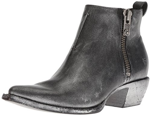 FRYE Women's Sacha Moto Shortie Ankle Boot, Black/Multi, 8.5 M US