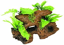 Marina Naturals Malaysian Driftwood with Plants, Large