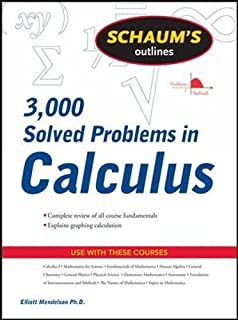 com schaum s solved problems in physics schaum s schaum s 3 000 solved problems in calculus schaum s outlines