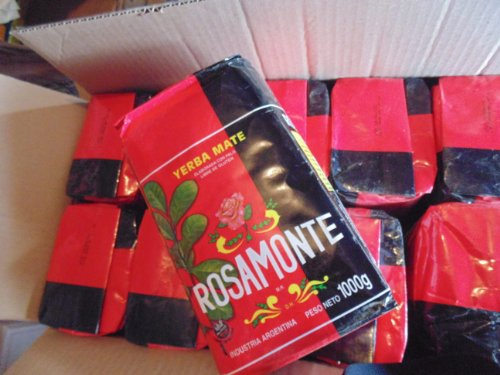 Rosamonte Yerba Mate, Tradicional 2.2 Lbs/1kilo From Argentina(10 Packs) by Rosamonte