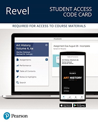 Revel for Art History, Volume A -- Access Card (6th Edition)