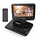 """Electronics : TENKER 9.5"""" Portable DVD Player with Swivel Screen, Rechargeable Battery and SD Card Slot & USB Port"""