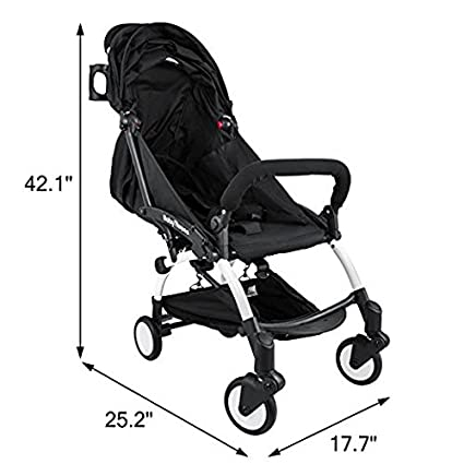 Amazon Com Mophorn Mini Folding Baby Stroller 2 In 1 Lightweight