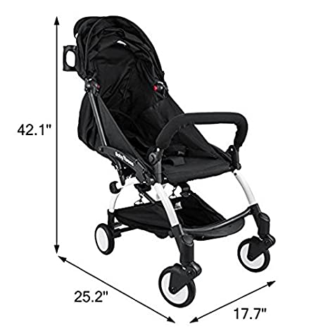 Amazon.com: mophorn Mini plegable carriola de bebé 2 en 1 ...