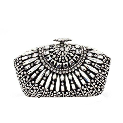En à Luxe Soirée De Diamant En Sac Main Sac De D Femmes Pour Diamant pzRqPWw